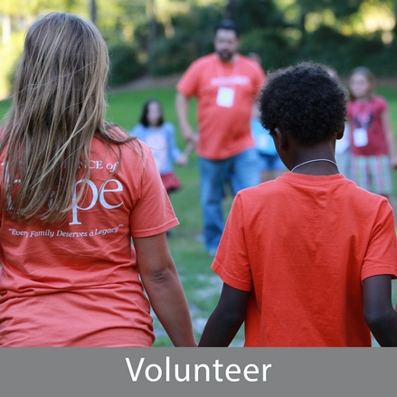 Volunteer at Legacy Retreats!