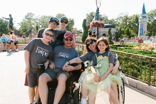The Douglas family making lifelong memories on their Inheritance of Hope Legacy Retreat®