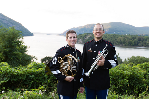 Nick and Bryan at West Point