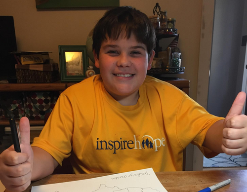 Way to inspire hope, Zach!
