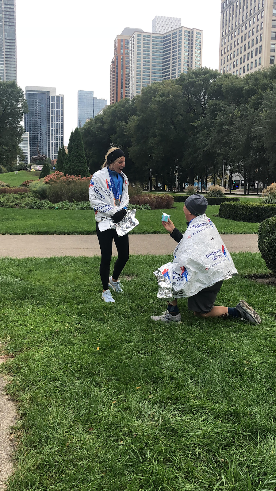 Proposal at the Finish Line: 