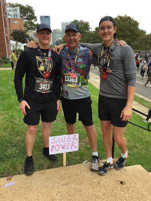 Finish with Pride: Bob Sauer Runs the Marine Corps Marathon in Support of Inheritance of Hope Families